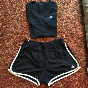 Adidas work out set!
